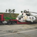 heavy hauling helicopter