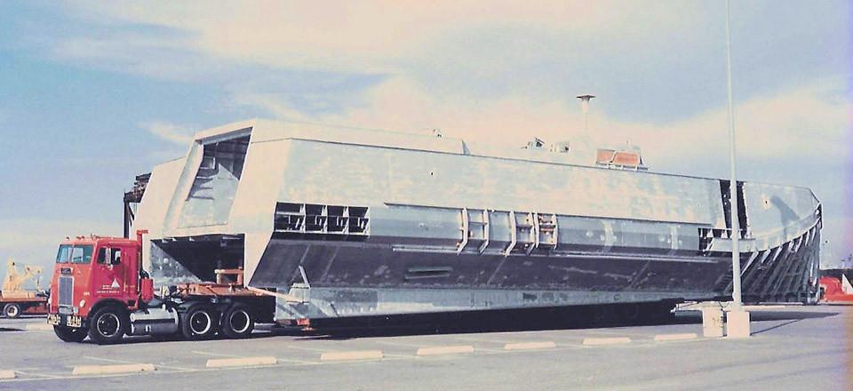 Odd size boats