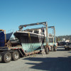 Taylor Made Leaves the SD Yard – DeFever 40 Foot Trawler