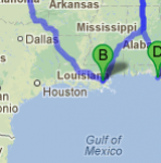 Move Boat from Louisiana, Mississippi or Texas to West Coast: Open Time Frame