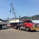38 Foot Hunter Sailboat Moved from Southern California to Idaho
