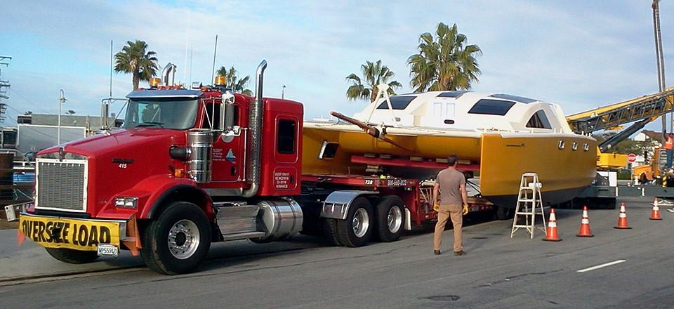 Expert Catamaran Transportation Across Country