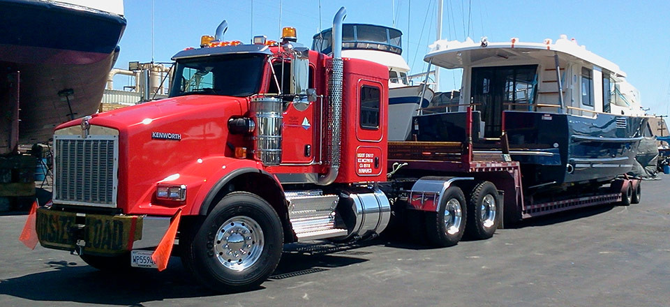 San Diego Boat Movers - Boat Transport Service | Boat Moving