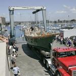 boat hauling, load truck boat