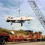 heavy hauling navy jet